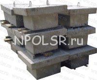 Подножник под стойки опор оборудования подстанций напряжением 35-500кв