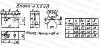 Блок фундамента  №2 серии 3.501-107
